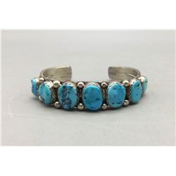 Seven Stone Turquoise Bracelet