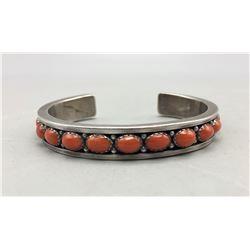 Ray Bennett 12 Stone Coral Bracelet