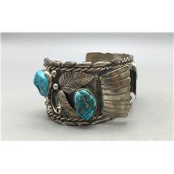 Vintage Turquoise Watch Bracelet