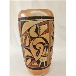 Tall Hopi Cylinder Jar by Frogwoman