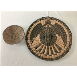 Vintage Hopi and Pima Baskets