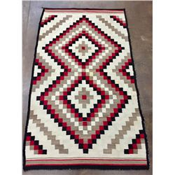 Early 1900s Busy Pattern Navajo Rug
