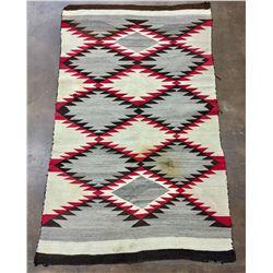 Circa 1930s Diamond Pattern Navajo Rug
