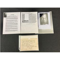 Historic John Slaughter Letter