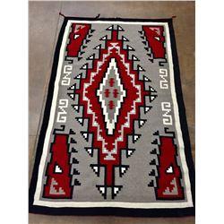 Vintage Klagetoh Navajo Rug