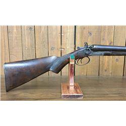 Antique Keystone Double Barrel Shotgun