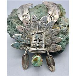 Unique Eagle Dancer Design Necklace