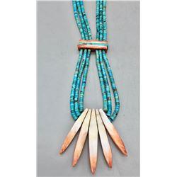 Santo Domingo Jocla Style Necklace