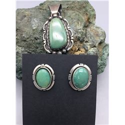 Pendant and Earring Set by Fred Peters