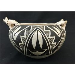 Acoma Effigy Pot