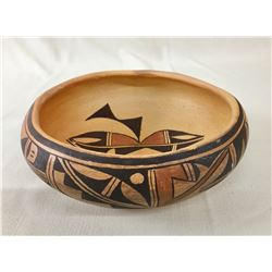 Vintage Hopi Bowl by Olive Toney