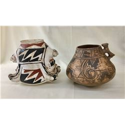 Two Casas Grandes Effigy Pots