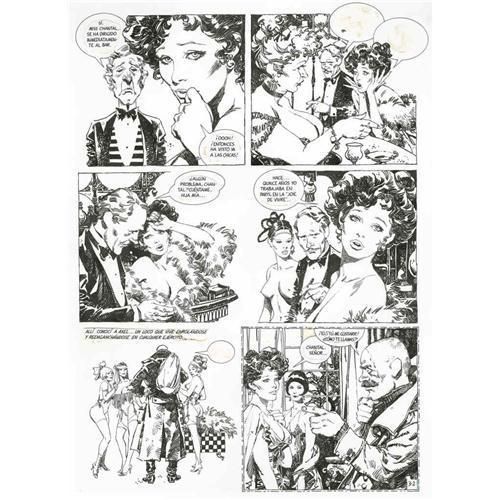 Erotic comic art
