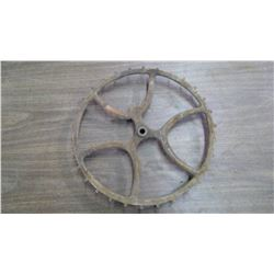 "Cast Decorative Wheel (17"" Diameter)"