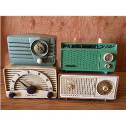 4 Old Radios