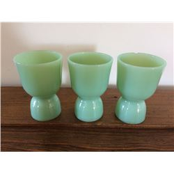Jadeite Egg Cups (One Chip)