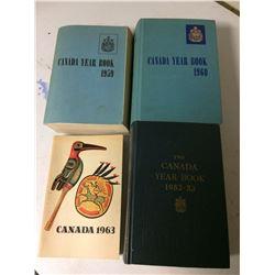 Canada year book 1952-53, 1959, 1960, 1963