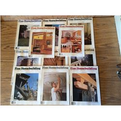 Fine Homebuilding Magazines (11)