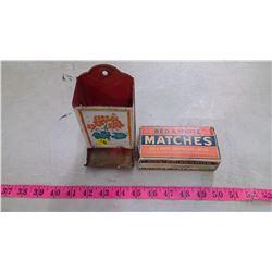 ONE MATCH HOLDER WITH MATCH BOX