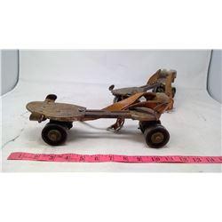 Vintage Roller Skates & Toy Gun