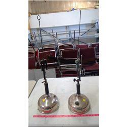 2- Coleman Coal Oil Lamps