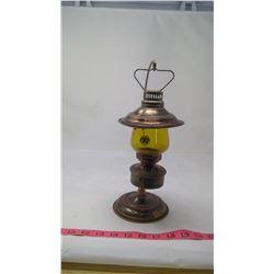 COAL OIL LAMP c/w STAND