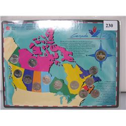 1992 CANADIAN 125th QUARTER & DOLLAR SET