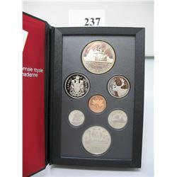 1987 CANADIAN PRESTIGE DOUBLE DOLLAR SET