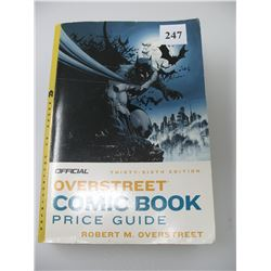 OVERSTREET COMIC BOOK PRICE GUIDE - 36th EDITION