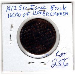 1812 sir isaac brock hero of upper Canada