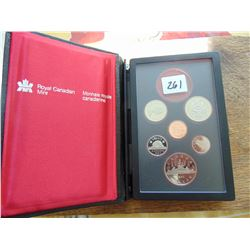 1984 proof set missing silver dollar
