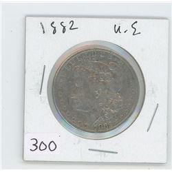 1882 U.S SILVER DOLLAR