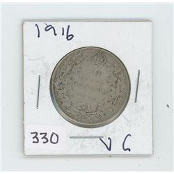 1916VG CANADIAN 50 CENT
