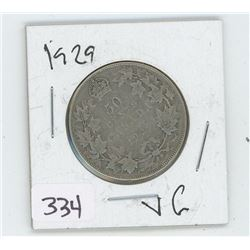 1929VG CANADIAN 50 CENT