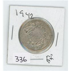 1944EF CANADIAN 50 CENT