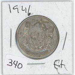 1946EF CANADIAN 50 CENT