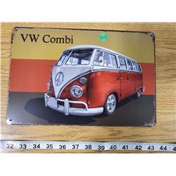 TIN SIGN ' VW COMBI'