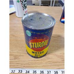 STURDIE MOTOR OIL TIN (FULL)