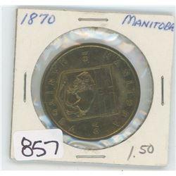 1870 MANITOBA TOKEN