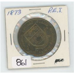 1873 P.E.I TOKEN