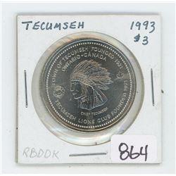 1993 TECUMSEH TOKEN