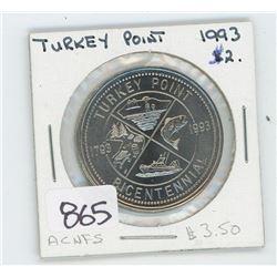 1993 TURKEY POINT TOKEN