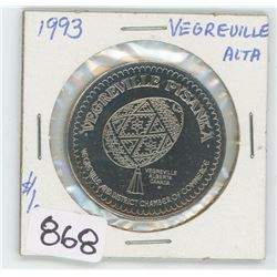1993 VEGREVILLE, ALBERTA TOKEN