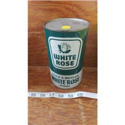 FULL WHITE ROSE OIL TIN
