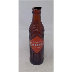Single Orange Crush Glass Bottle