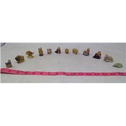 Assorted Wade Tea Ornaments