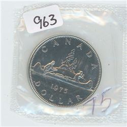 1975 PROOF LIKE CANADIAN DOLLAR