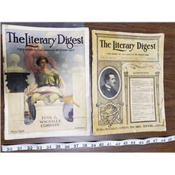 TWO LITERARY DIGESTS 1907, 1911