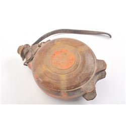 20DG-22 WOOD CARVED CANTEEN