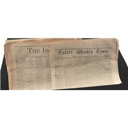 20AC-1 NEWSPAPERS FROM 1870'S